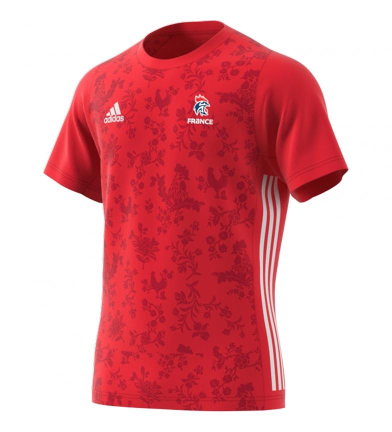 Comprar adidas T-shirt FFHB Tee M rouge