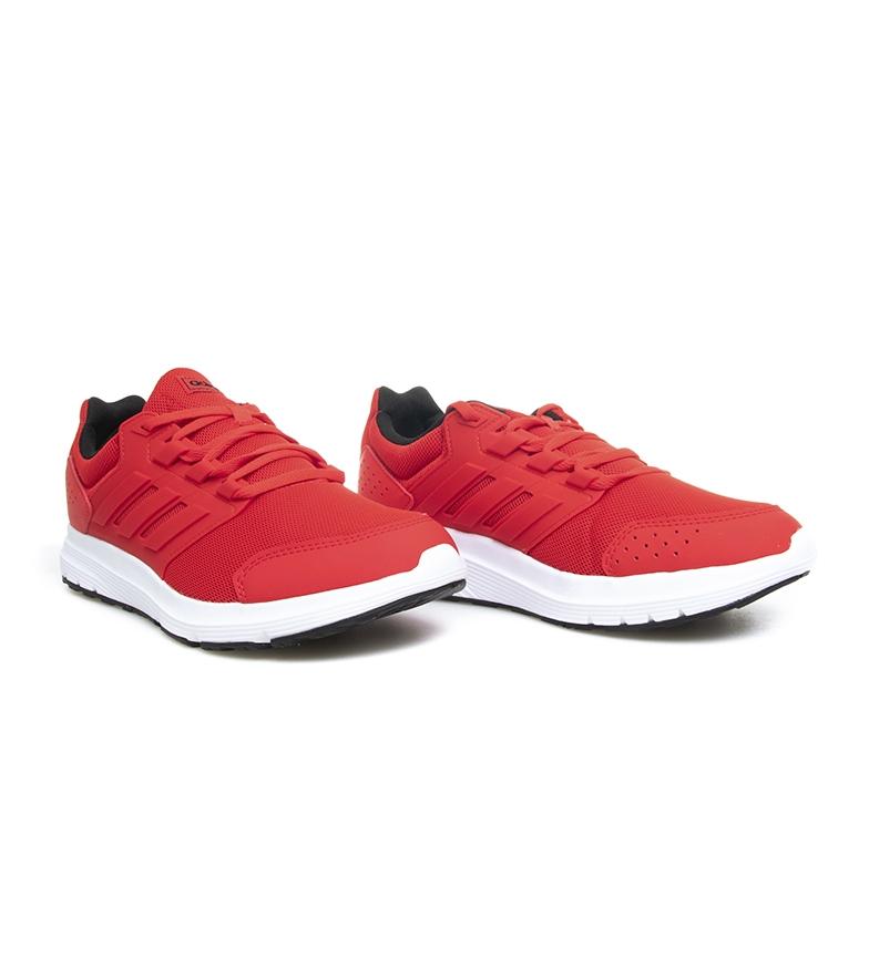 adidas-Zapatillas-de-running-Galaxy-4-rojo-EcoOrthoLite-Hombre-chico-Negro miniatura 4