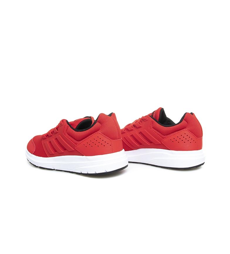 adidas-Zapatillas-de-running-Galaxy-4-rojo-EcoOrthoLite-Hombre-chico-Negro miniatura 5