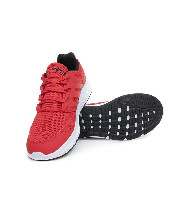 adidas-Zapatillas-de-running-Galaxy-4-rojo-EcoOrthoLite-Hombre-chico-Negro miniatura 6