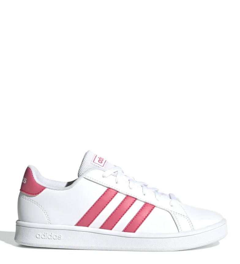 Comprar adidas Chaussures Grand Court blanc, rose