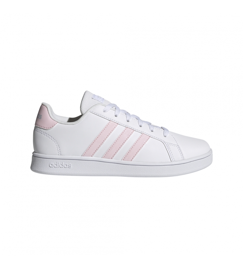 Comprar adidas Chaussures Grand Court Kids blanc, rose