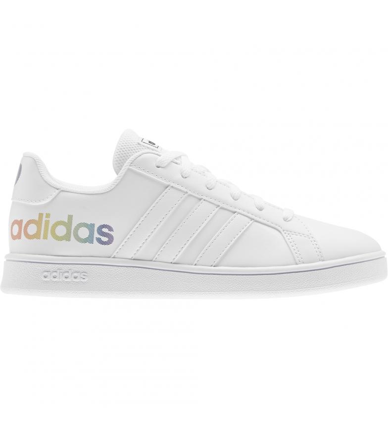 Comprar adidas Zapatillas Grand Court K blanco, multicolor