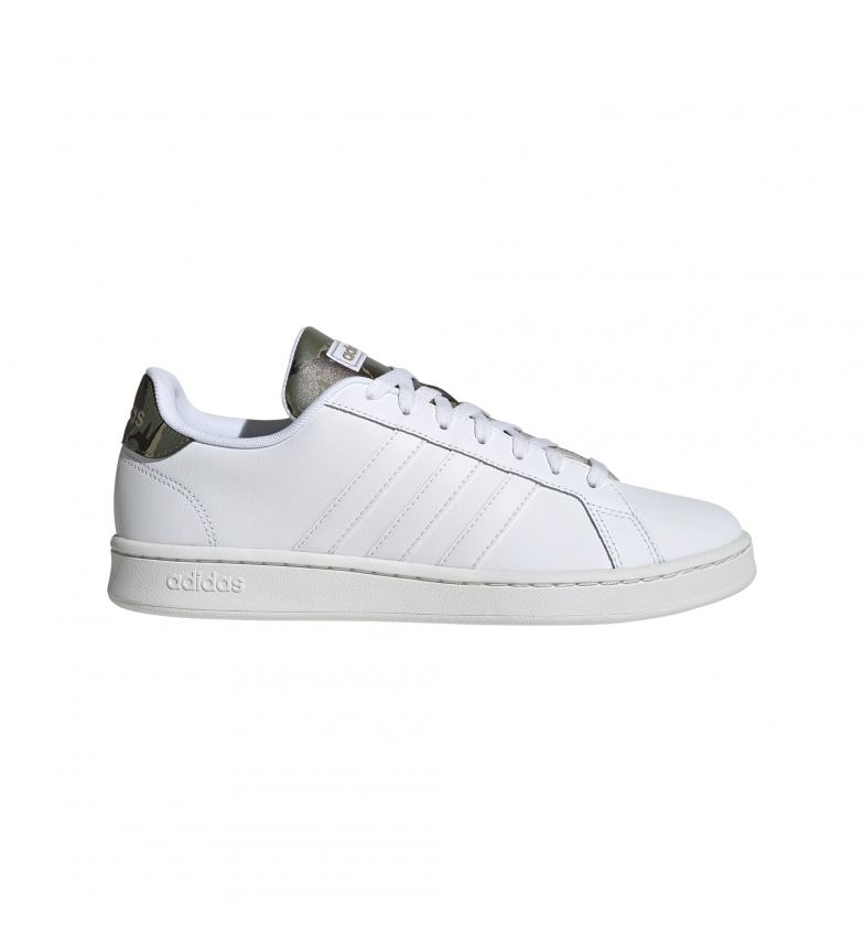 adidas Sneaker Grand Court bianche in pelle