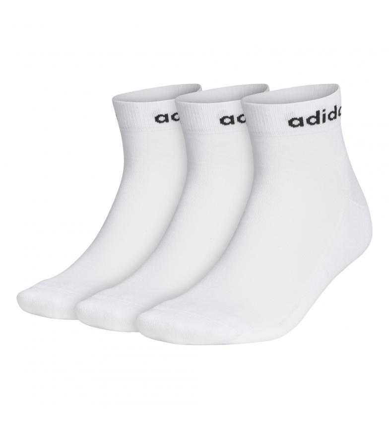 Comprar adidas Pack de 3 calcetines Half-Cushioned blanco
