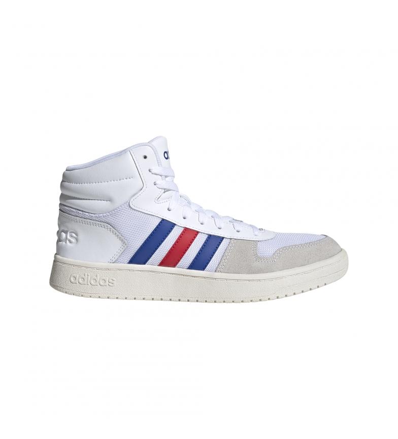 Comprar adidas Laços 2.0 MID sapatos MID brancos