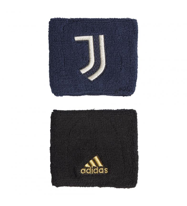 Comprar adidas Confezione da 2 braccialetti Juventus WB neri, blu