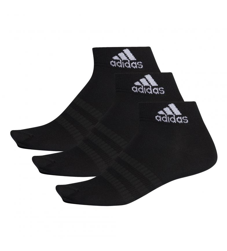 Comprar adidas Pack of 3 socks LIGHT ANK 3PP black