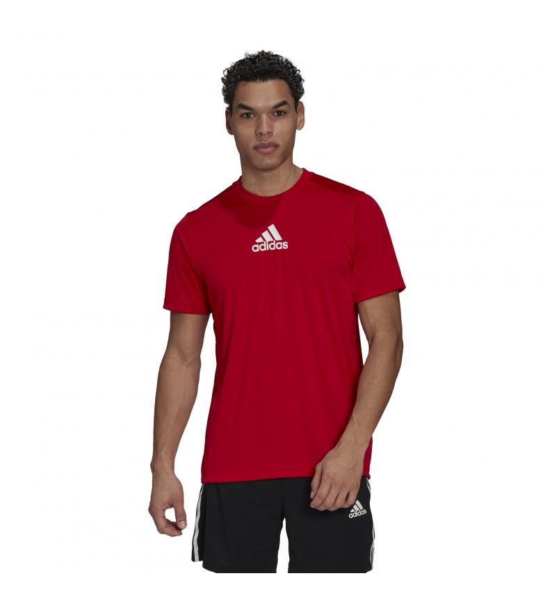 Comprar adidas Camiseta M 3 Rayas Back rojo