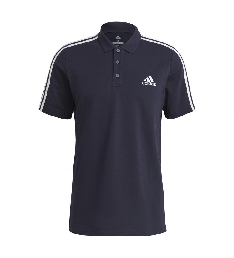 Comprar adidas Polo camisa M 3 Stripes Pique Aeroready Essentials marinha