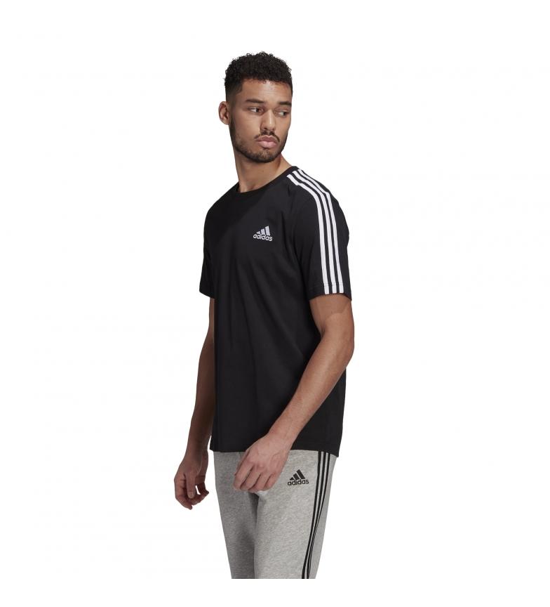 Comprar adidas Essentials 3 Stripes T-Shirt black
