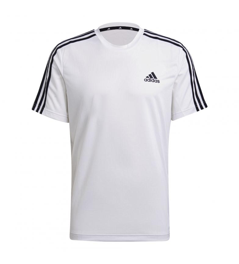 Comprar adidas T-Shirt Aeroready conçu pour le sport 3 Stripes blanc