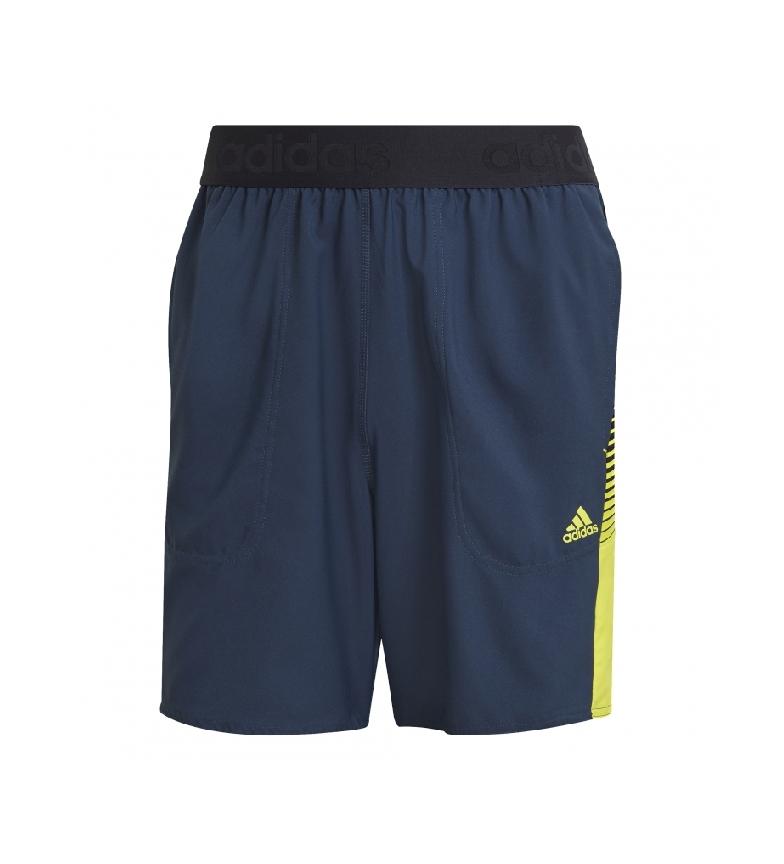 Comprar adidas Pantaloncini da uomo Aeroready Designed 2 Move Actived Blu
