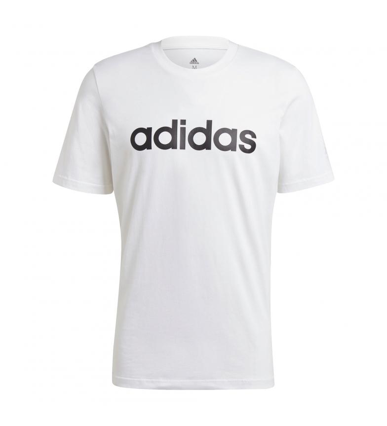 adidas Camiseta Man Essentials LIN SJ T blanco