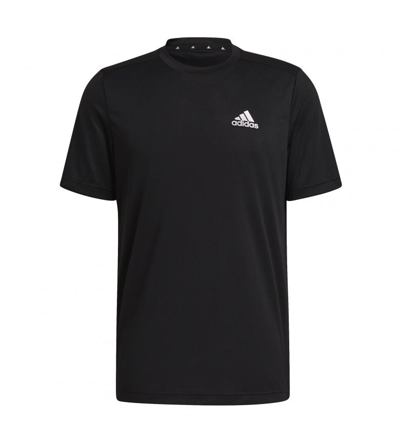 Comprar adidas T-shirt nera da uomo Aeroready