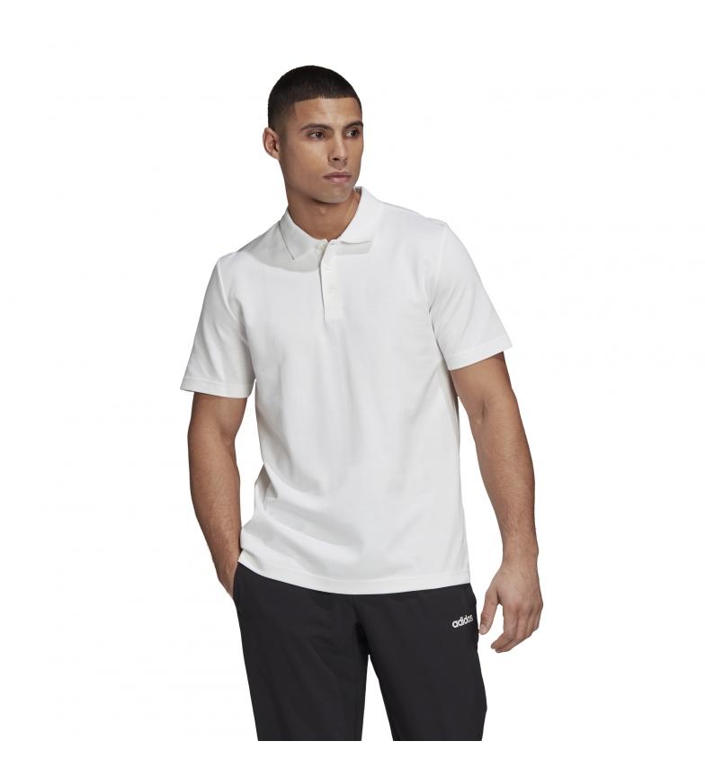 Comprar adidas Polo bianca Brilliant Basic