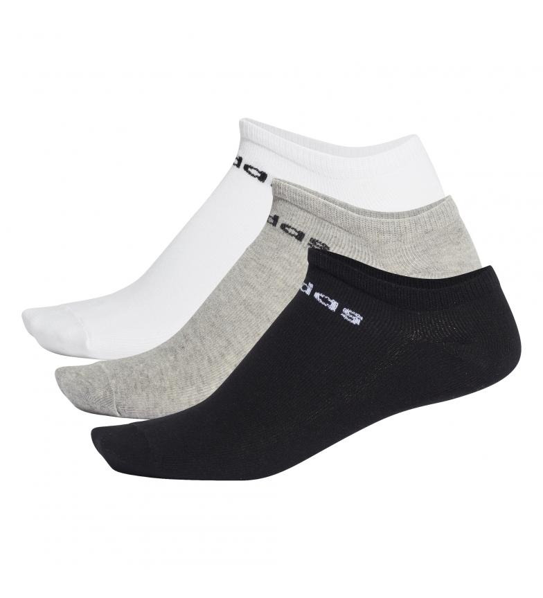 Comprar adidas Pack de 3 Calcetines Piqui NC blanco, gris, negro