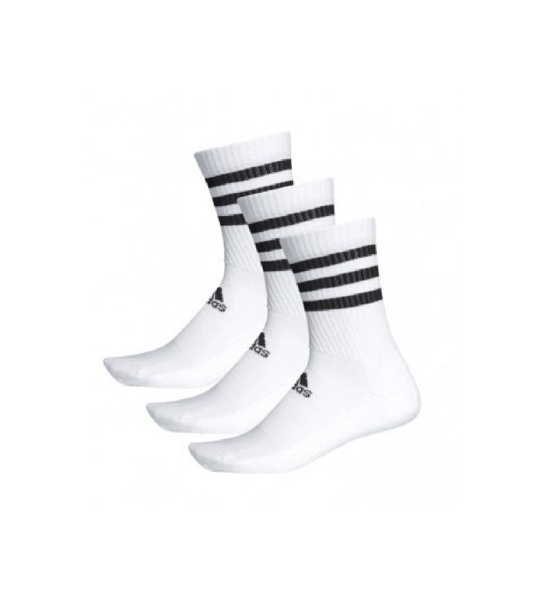 adidas Pack de 3 Calcetines Clásicos Cushioned blanco