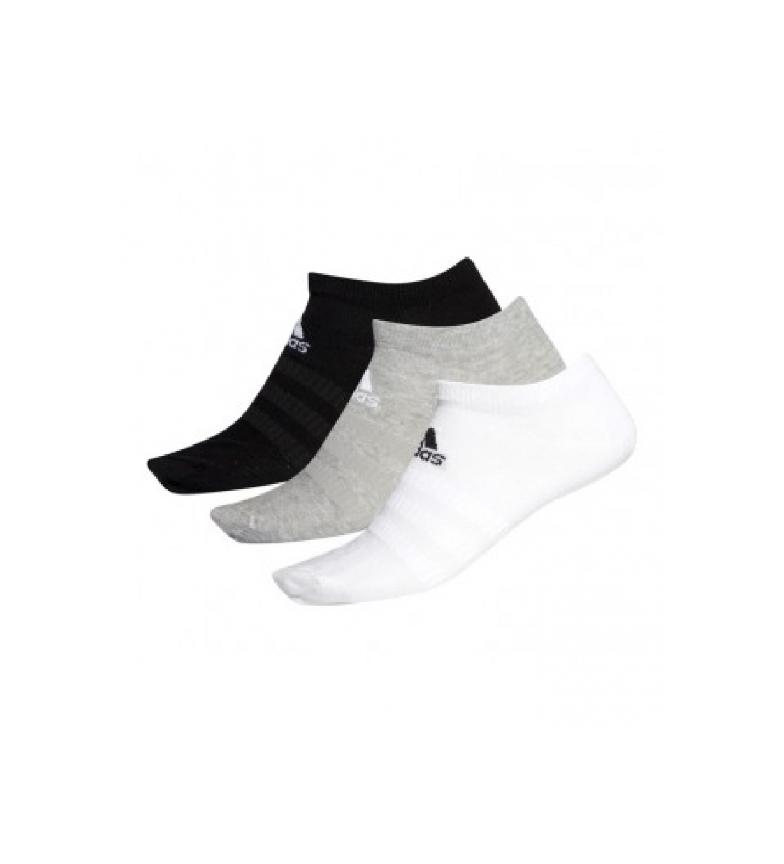 Comprar adidas Lot de 3 Chaussettes basses légères 3PP gris, blanc, noir
