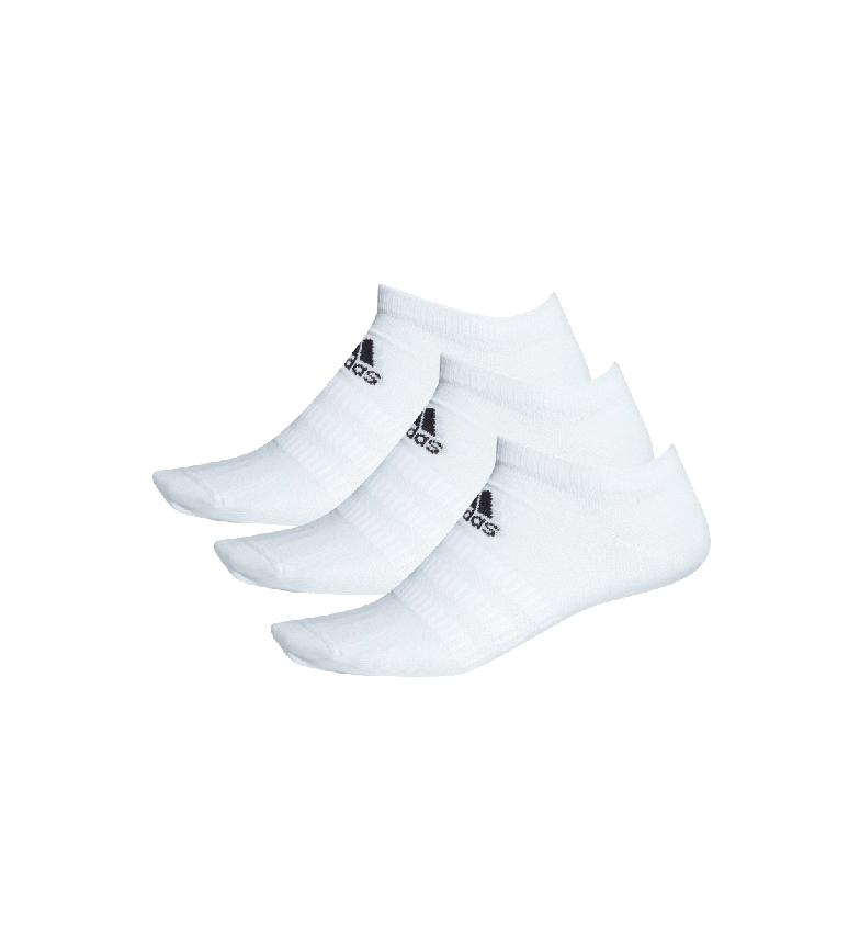 Comprar adidas Pack of 3 white Light Low Socks