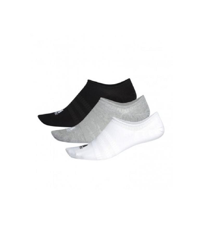 Comprar adidas Pack of 3 Piqui Light Socks black, white, grey