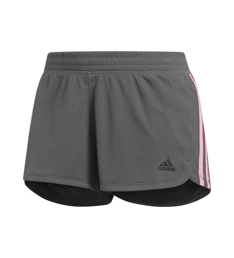 Comprar adidas Pantalón Corto Knit Pacer 3 Bandas gris