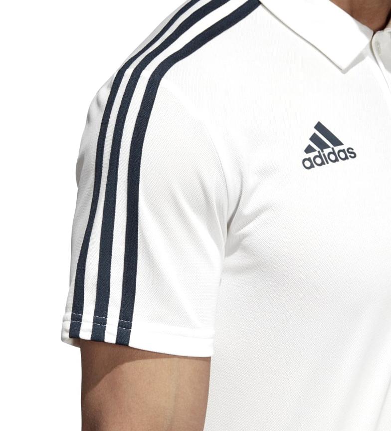 adidas-Polo-Real-Madrid-Hombre-chico-Blanco-Deportivo-Multideporte-Futbol miniatura 9