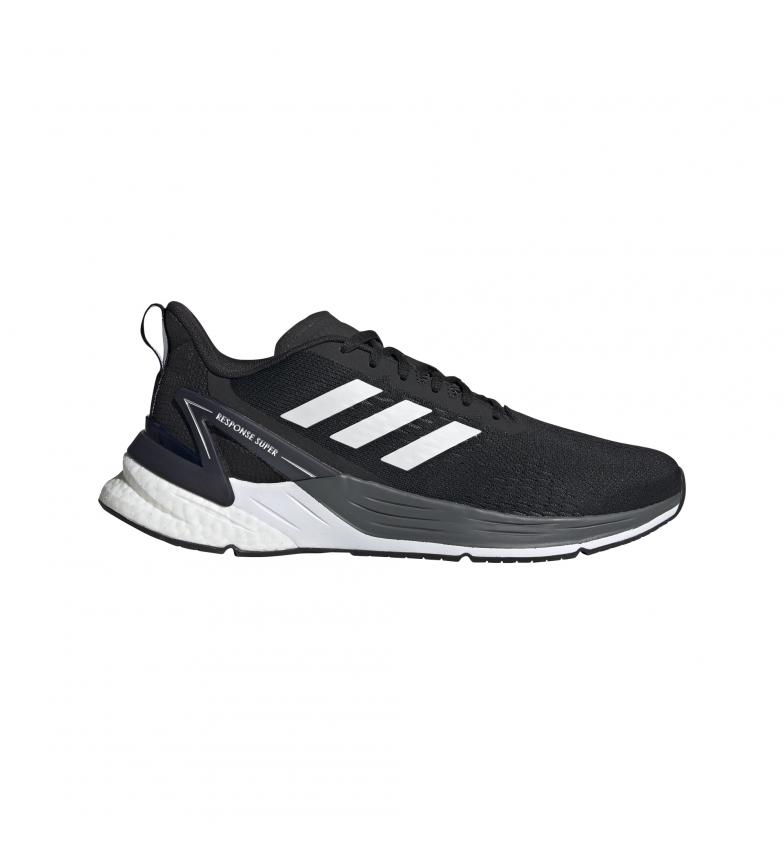 Comprar adidas Resposta dos Sapatos de Corrida Super preto