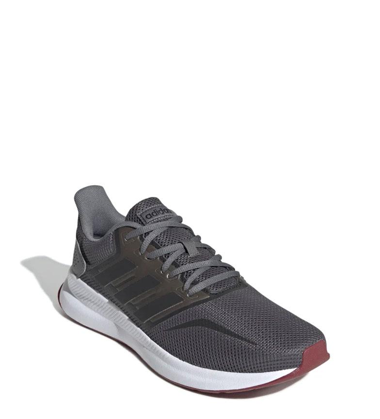 adidas-Sneakers-running-Runfalcon-Homme-Noir-Vert-Blanc-Bleu-Gris-Rouge-Tissu miniature 57