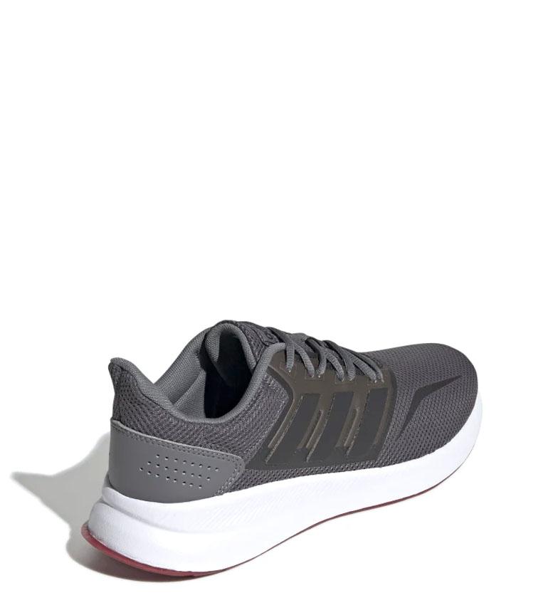 adidas-Sneakers-running-Runfalcon-Homme-Noir-Vert-Blanc-Bleu-Gris-Rouge-Tissu miniature 58