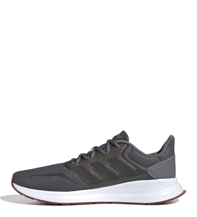 adidas-Sneakers-running-Runfalcon-Homme-Noir-Vert-Blanc-Bleu-Gris-Rouge-Tissu miniature 59