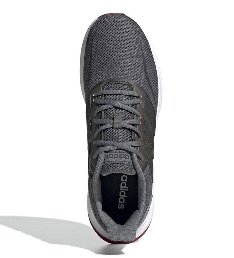 adidas-Sneakers-running-Runfalcon-Homme-Noir-Vert-Blanc-Bleu-Gris-Rouge-Tissu miniature 60