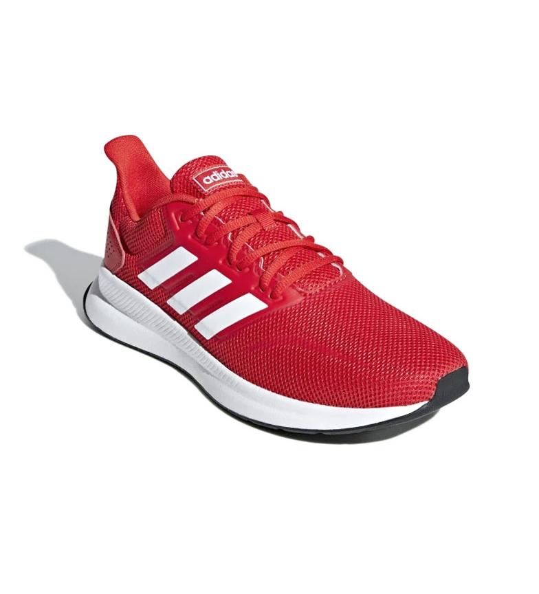 adidas-Sneakers-running-Runfalcon-Homme-Noir-Vert-Blanc-Bleu-Gris-Rouge-Tissu miniature 49