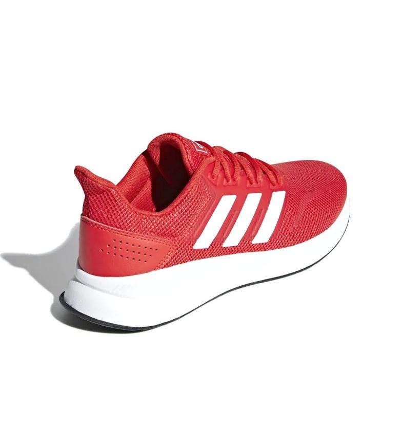 adidas-Sneakers-running-Runfalcon-Homme-Noir-Vert-Blanc-Bleu-Gris-Rouge-Tissu miniature 50