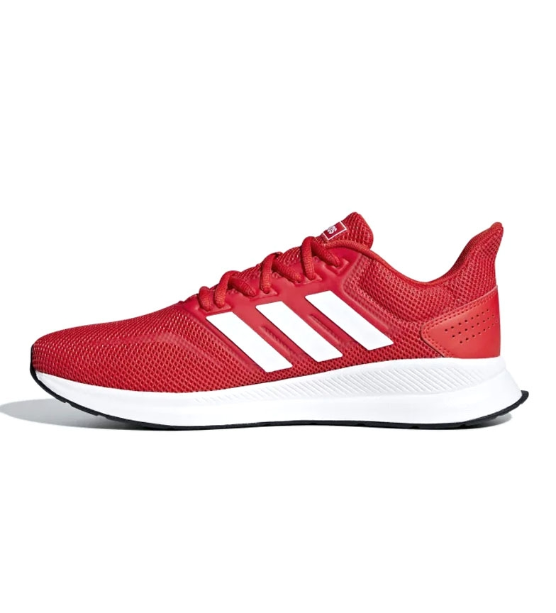 adidas-Sneakers-running-Runfalcon-Homme-Noir-Vert-Blanc-Bleu-Gris-Rouge-Tissu miniature 51
