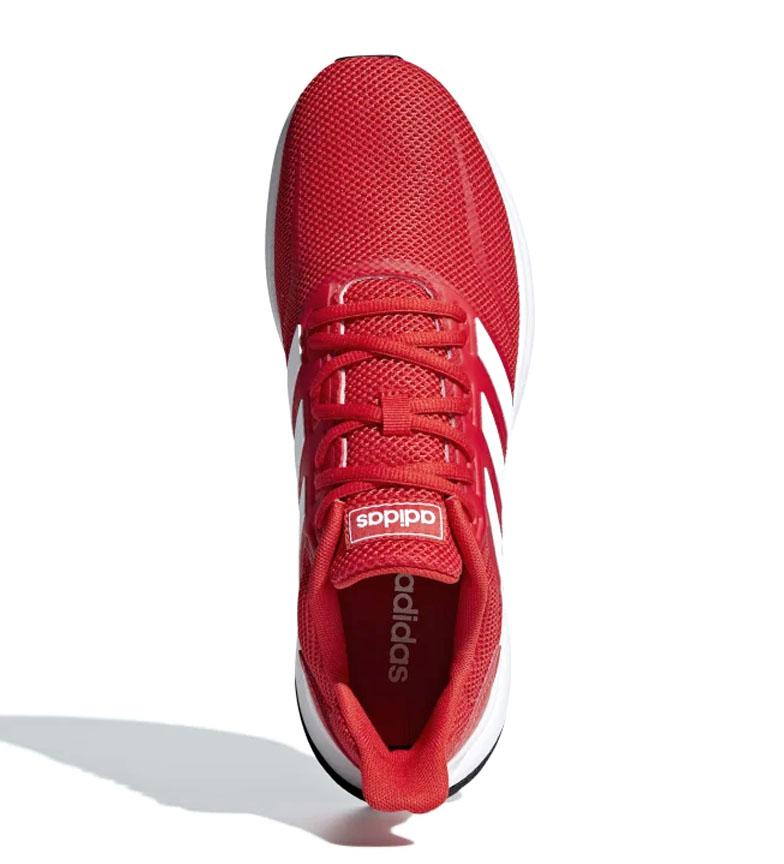 adidas-Sneakers-running-Runfalcon-Homme-Noir-Vert-Blanc-Bleu-Gris-Rouge-Tissu miniature 52