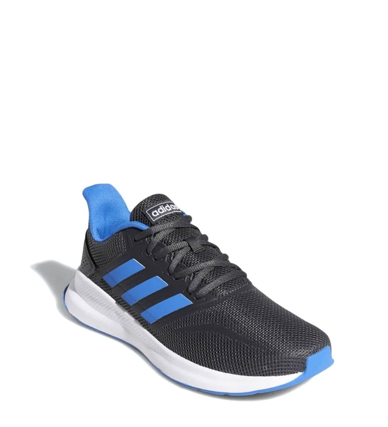 adidas-Sneakers-running-Runfalcon-Homme-Noir-Vert-Blanc-Bleu-Gris-Rouge-Tissu miniature 72