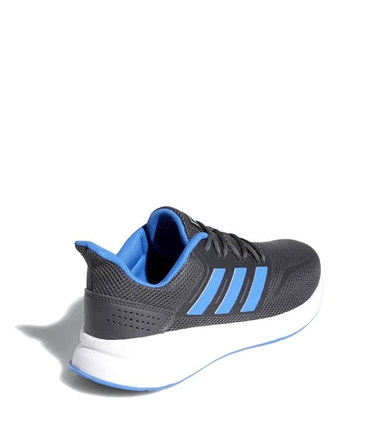 adidas-Sneakers-running-Runfalcon-Homme-Noir-Vert-Blanc-Bleu-Gris-Rouge-Tissu miniature 73