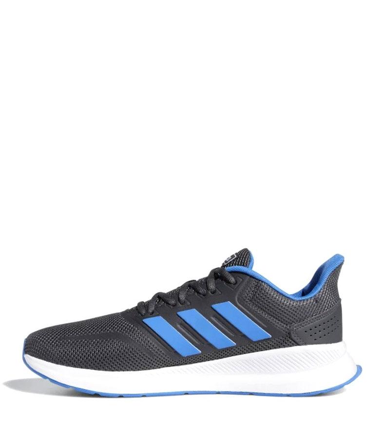 adidas-Sneakers-running-Runfalcon-Homme-Noir-Vert-Blanc-Bleu-Gris-Rouge-Tissu miniature 74