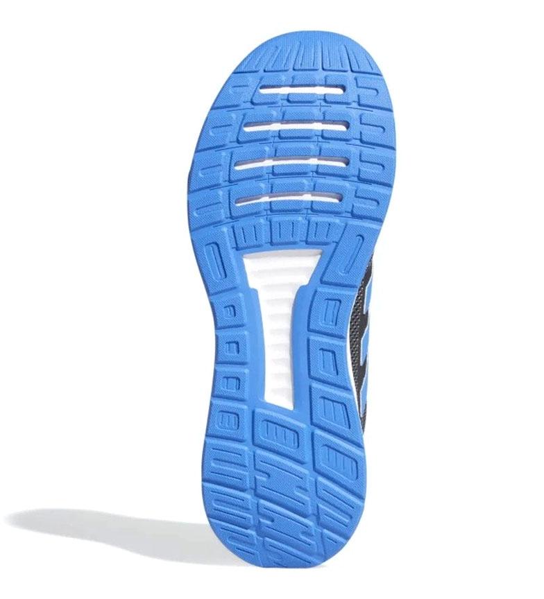 adidas-Sneakers-running-Runfalcon-Homme-Noir-Vert-Blanc-Bleu-Gris-Rouge-Tissu miniature 76