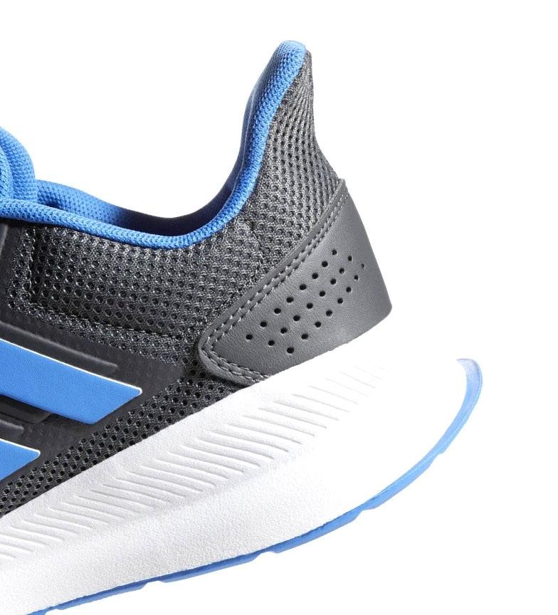 adidas-Sneakers-running-Runfalcon-Homme-Noir-Vert-Blanc-Bleu-Gris-Rouge-Tissu miniature 77