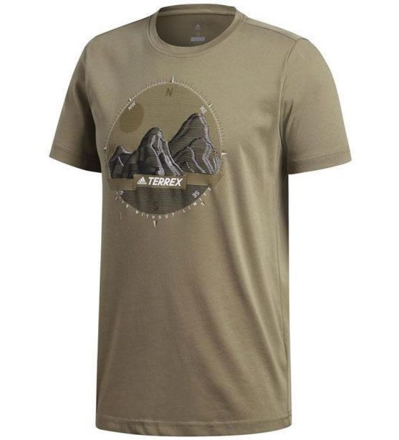 Comprar adidas Terrex T-shirt com foto ID branco