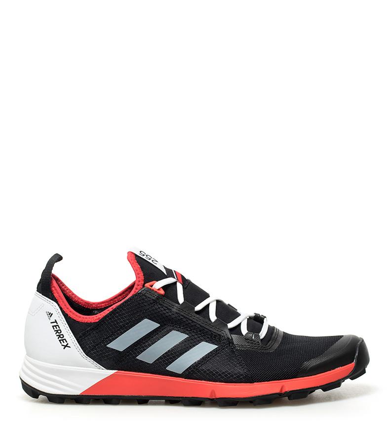 adidas TERREX Agravic Zapatillas de trail running negro rojo