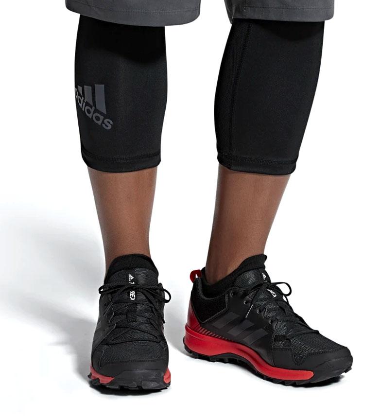 Terrex Running zapatillas Adidas NegroRojo290g De Trail Tracerocker CdexBo