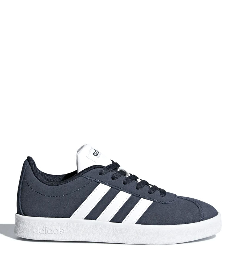 Comprar adidas VL Court 2.0 marine leather sneakers