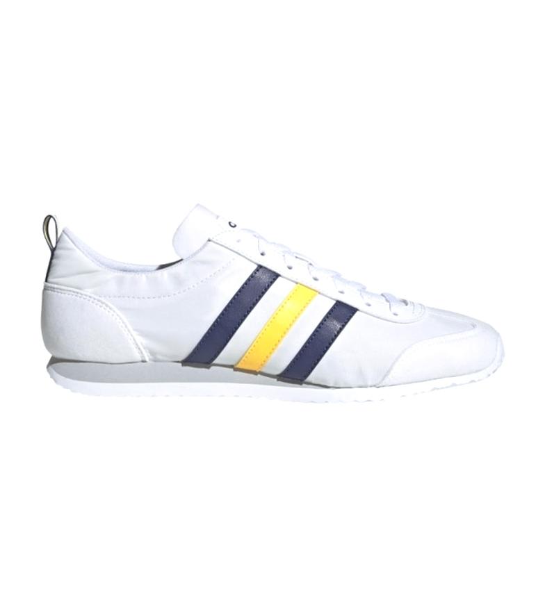 Comprar adidas Zapatillas Vs Jog blanco, marino, amarillo