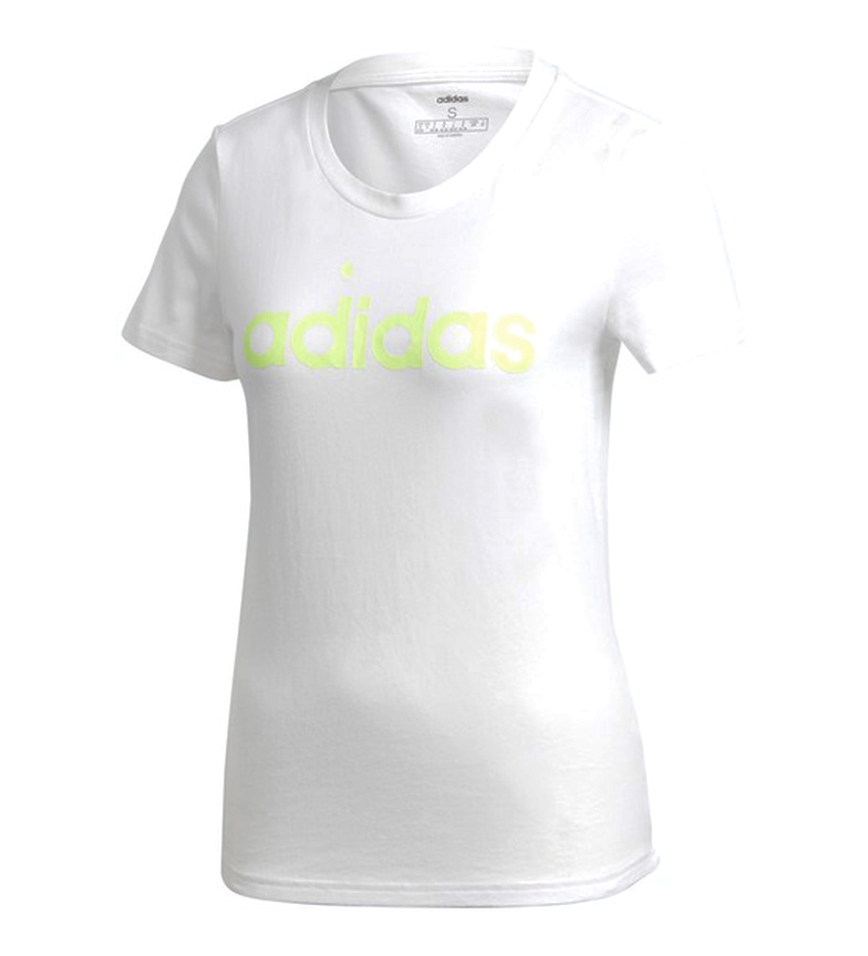 Comprar adidas Essentials T-shirt Linear Slim branca