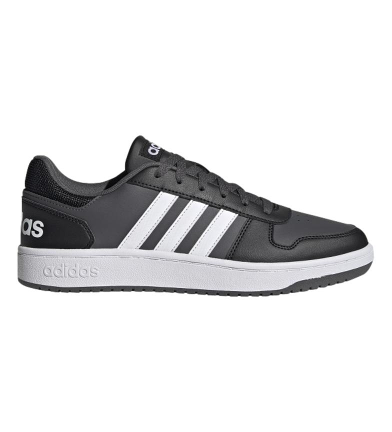 adidas Scarpe Hoops 2.0 nere