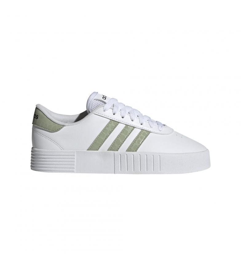 Comprar adidas Tênis de quadra cor-de-rosa branco, verde