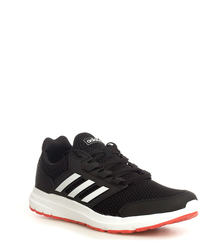 5deae188fdc adidas - Sneakers running Galaxy 4 Homme Rouge Noir Tissu ...